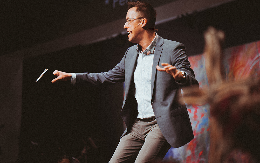 Maybe God host and Story Houston pastor Eric Huffman reveals the power of chasing joy over happiness.