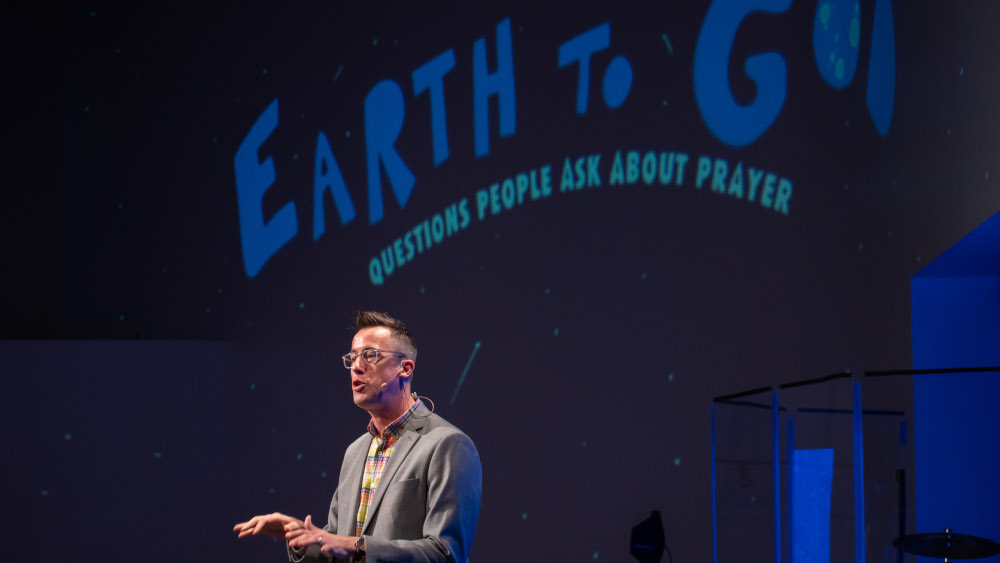 Maybe God host and Story Houston pastor Eric Huffman tackles some of the biggest questions and doubts we have about prayer.